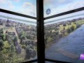 One World Trade Center Elevator Ride Show Animated New York Skyline From 1500s To Now