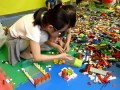 Record breaking lego tower in Seoul