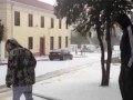Snow in Sea Point, Cape Town