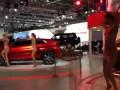ММАС 2014 стенд Mitsubishi Девушки