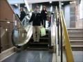 Самый короткий эскалатор в мире!