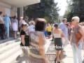 Горловка, протесты предпринимателей