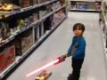 Toy Lightsaber - Опасная игрушка