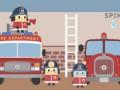 Мультики про пожарников. Мик и его команда. Пожарная станция. Смотреть пожарная машина мультфильм