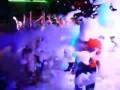 Пенная пушка в клубе Центр, г..Минск, Республика Беларусь. Пенная дискотека видео