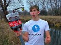 Запуск камеры в воздух на ракете из Кока Колы
