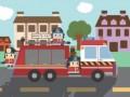 Мультфильм про пожарную машину. Пожарник Мик спасает кошку. Смотреть мультики про пожарников