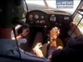 Падение Самолета (Вид изнутри) - Plane crash (Inside View)