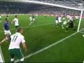 Italia - Irlanda Primo Gol di Antonio Cassano :)