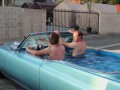 Hot Tub Cadillac: Friends Hope To Set World Record For Fastest Hot Tub Car