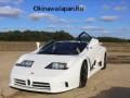 Bugatti EB110 SS Burnout в колхозе