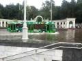 Минск, метро, дождь