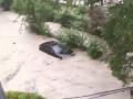 Наводнение смерчи и дожди в Туапсе 08.07.2014