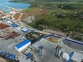 Строительство Крымского моста. Керченский берег