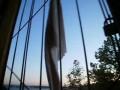 Труселя на балконе