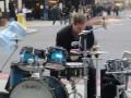 Insane D&B/Jungle/HipHop/R&B Drumming nr Liverpool Street Station (Oded Kafri)