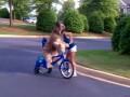 Norman Rides a Bike