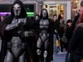 Интересный флэш моб в стиле Star Wars
