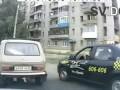 ДТП разборке на дороге с топором ЖЕСТЬ!