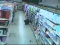 Thief hides 8 bundles of stockings in pants