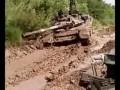 Т-90 и грязь