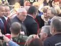 Шуточное покушение на президента Чехии