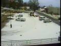Неудачно почистил снежок