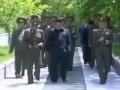 Как встречают Ким Чен Ына