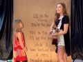 Lennon and Maisy Cover -That's What's Up