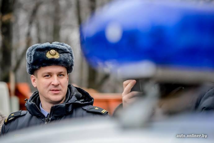 Начальник ГАИ УВД Центрального р-на г. Минска Бабичев Сергей Васильевич.