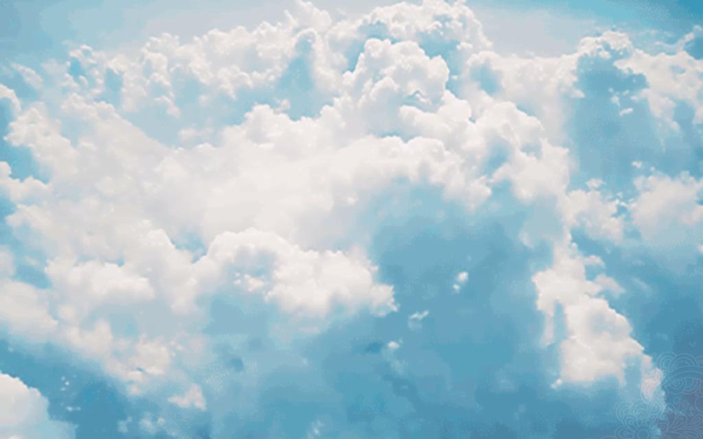 падении мерцающие картинки облака акула