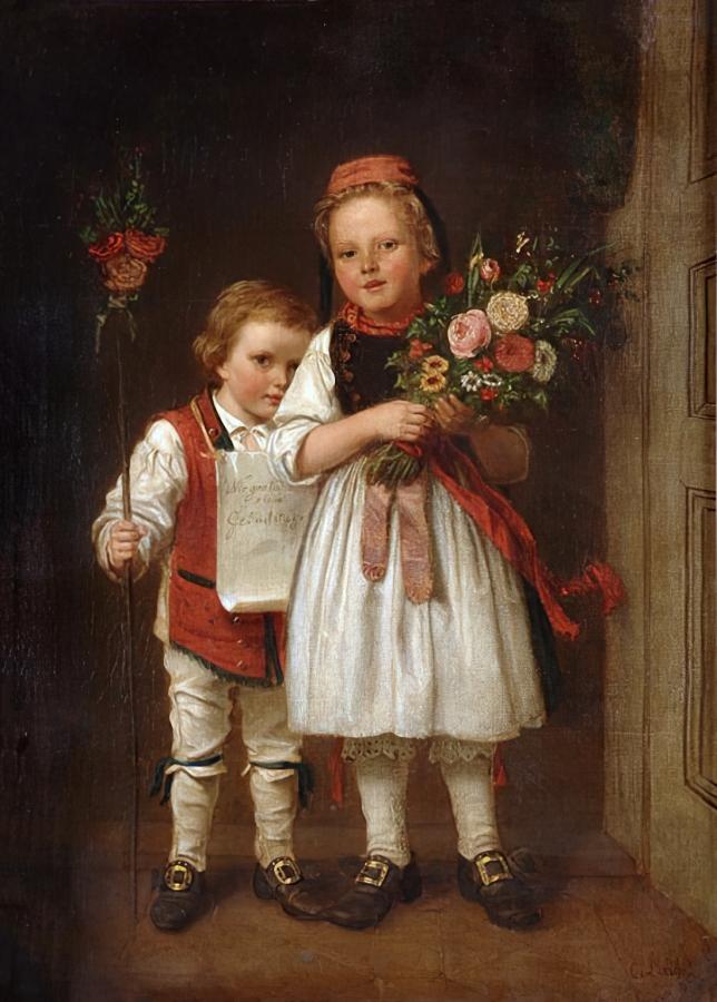 4 Карл Иоганн Лаш. Поздравляющий с днём рождения