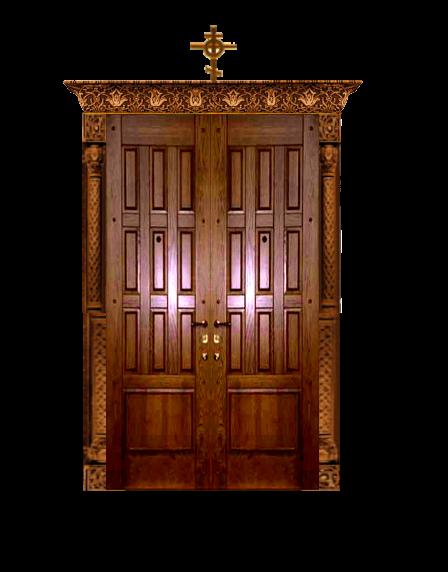 церковь киот двери