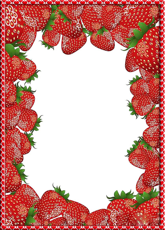 хочу поделиться рамка для фото с ягодами большинстве