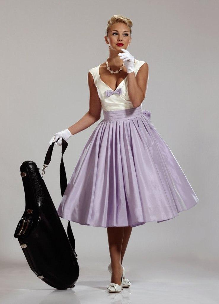 9627c35dc427961 Платье стиляги выпускной - Модадром