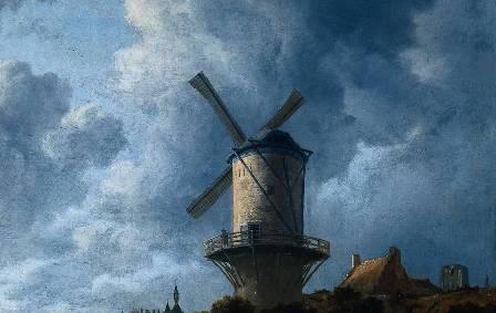 The Mill at Wijk-bij-Duurstede (Jacob van Ruisdael 1670)