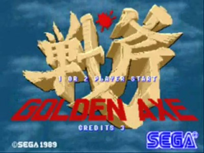 Golden Axe arcade 1/2