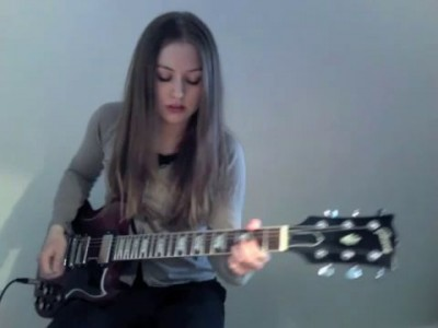 Comfortably Numb - Pink Floyd (cover by Juliette Valduriez)