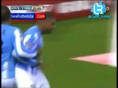 Atletico Madrid - Malaga 2-1 All Goals and Full Match Highlights HD (05/05/2012)