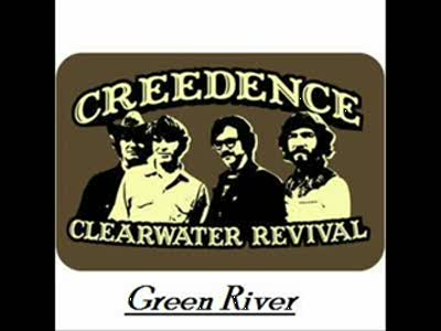 Creedence Clearwater Revival - Green River + Lyrics