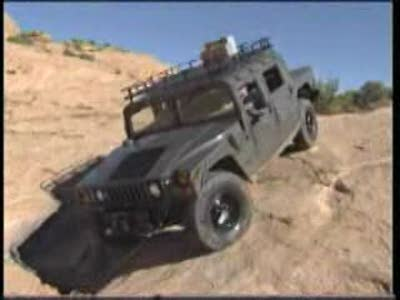 H1 HUMMER EXTREME 4x4 MUD BOG - ROCK CRAWLING WATER CROSSING