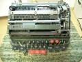 What happens when you divide by zero on mechanical calculator