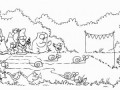 Simon's Cat in 'Ready, Steady, Slow!'