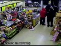 Thug Loses Clothes To Asian Store Owners While Shoplifting